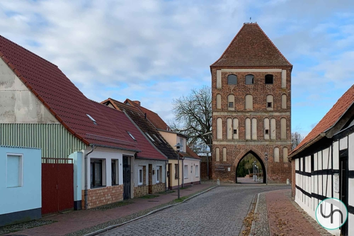 Anklamer Tor in Stadt Usedom