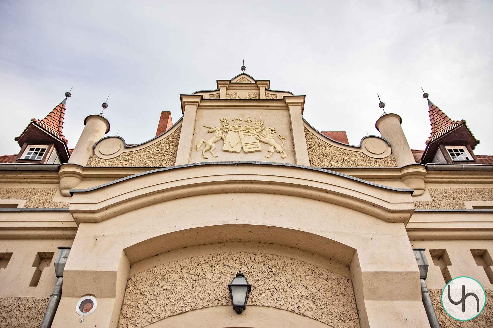 Schloss Stolpe Frontansicht