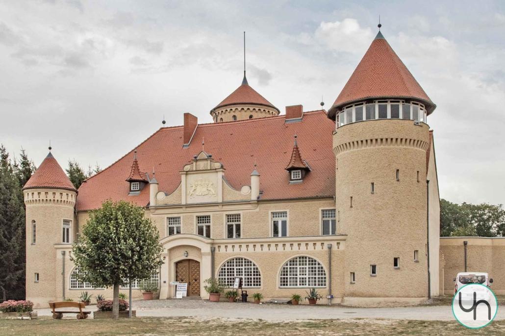 Schloss Stolpe Außenaufnahme