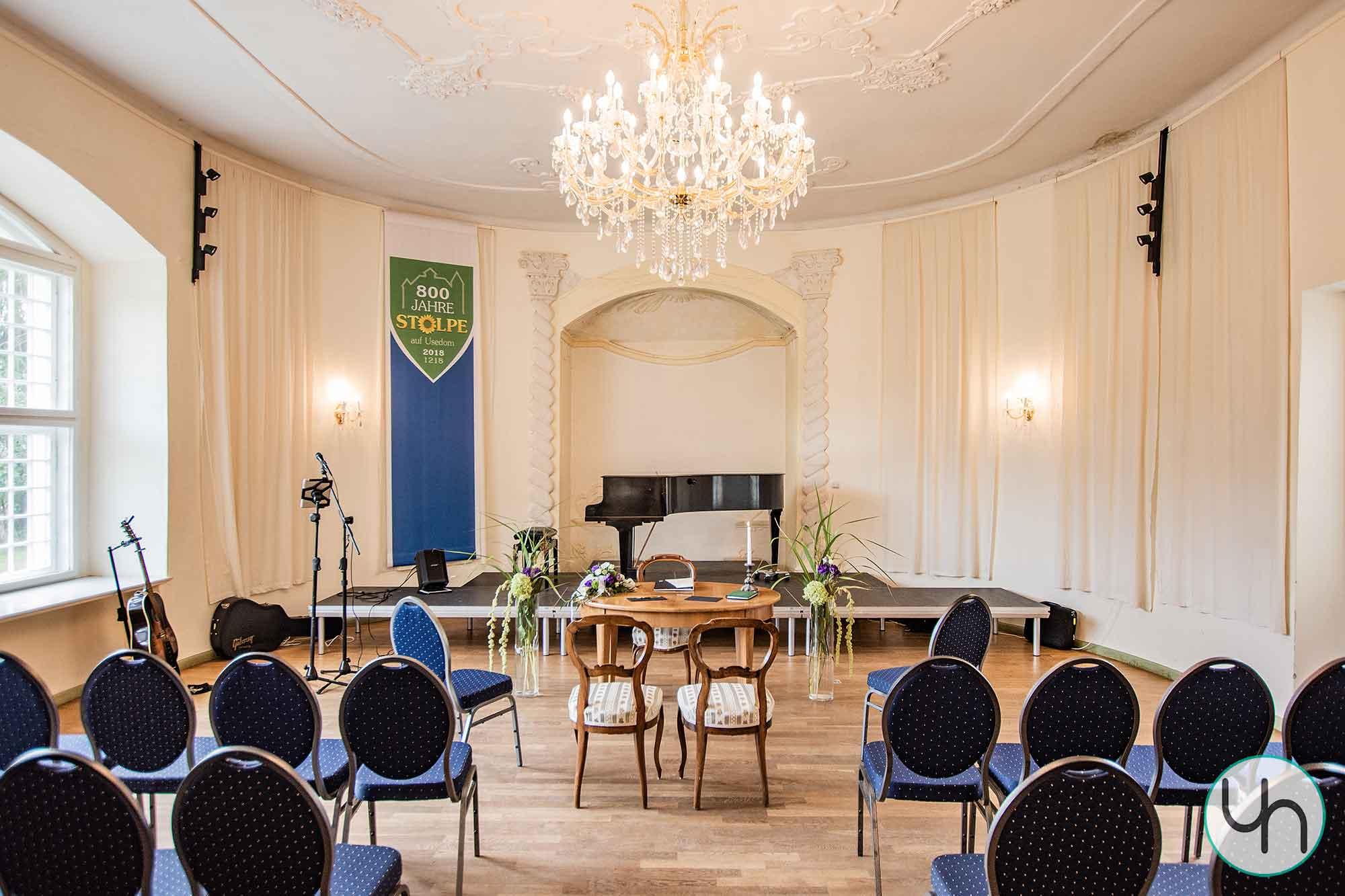 Schloss Stolpe Innenaufnahme
