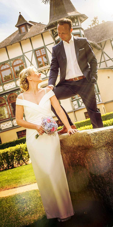 Hochzeitsfoto Zinnowitz Sonne Promenade