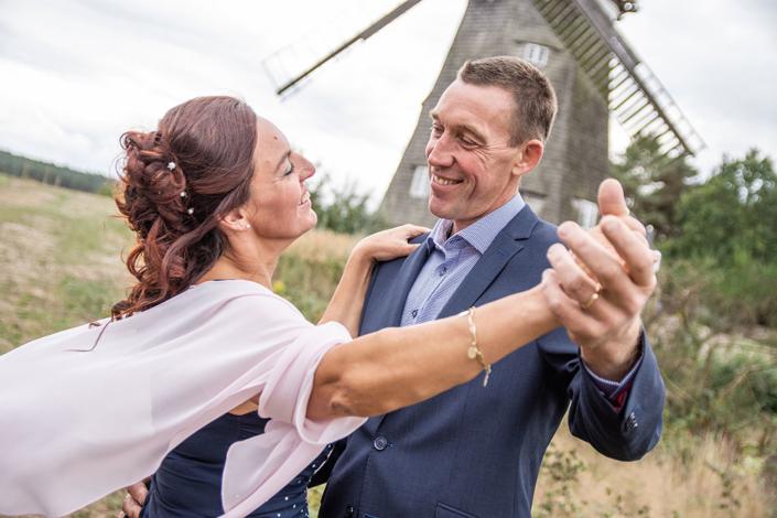 Hochzeitsfoto Benzer Mühle Insel Usedom