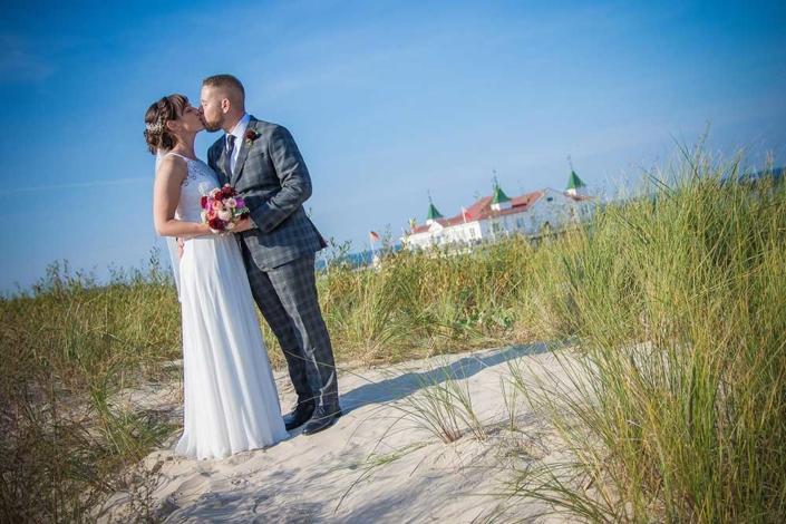 Hochzeitsfoto Ahlbeck Seebrücke