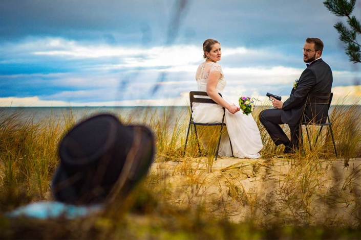 Hochzeitsfoto Breaking Bad Strand