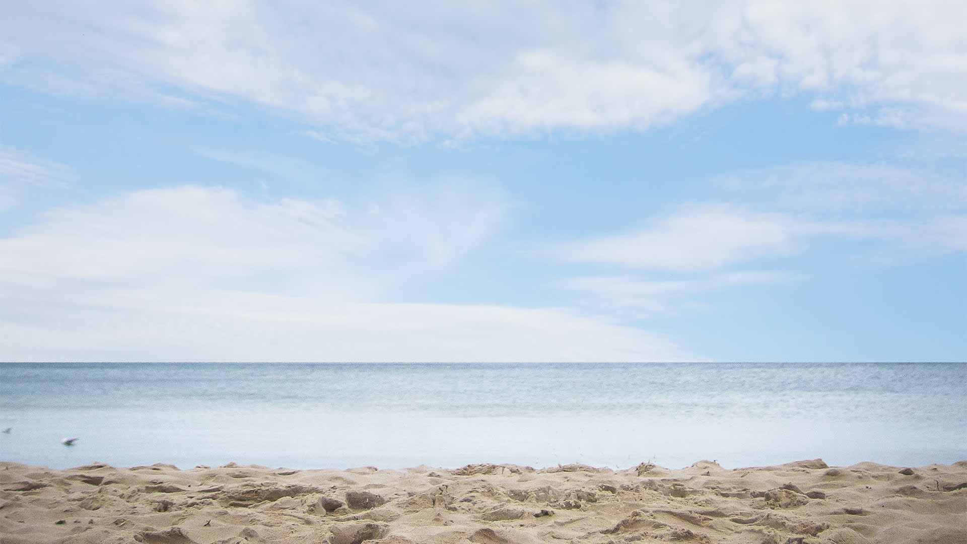 Ostsee Hintergrund Strand