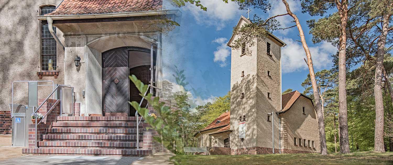 Evangelische Kirche Seebad Bansin Kollage