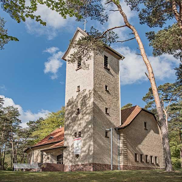 Evangelische Kirche Seebad Bansin Außenaufnahme