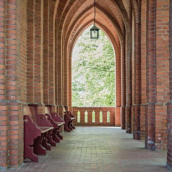 Evangelische Kirche Seebad Heringsdorf Eingangsbereich