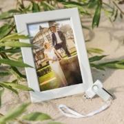 Rahmen Hochzeit USB Stick