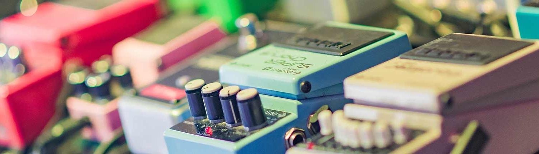 Musiker Insel Usedom Effektgeräte Header