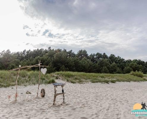 Freie Trauung am Strand der Insel Usedom